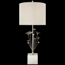 Visual Comfort KS 3116BSL-L - Keaton Bouquet Table Lamp in Burnished Silver Le