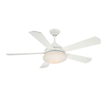 Savoy House 52-771-5WH-WH - Three Light White Ceiling Fan