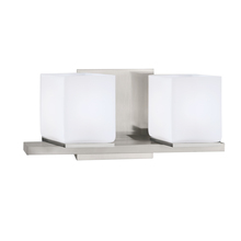 Norwell 5312-BN-MO - Icereto 2 Light Sconce