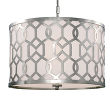 Crystorama 2266-PN - Libby Langdon for Crystorama Jennings 5 Light Polished Nickel Chandelier