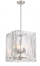 Designers Fountain 89054-SP - Madison Square 4 Light Foyer