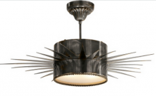 Visual Comfort SK 5202BZ - Soleil Large Pendant in Bronze with Frosted Glas