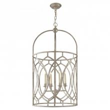 Visual Comfort CHC 2536BSL - Marquise Tall Lantern in Burnished Silver Leaf