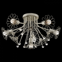 Visual Comfort KS 4311BSL - Keaton Bouquet Flush Mount in Burnished Silver L