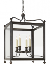Visual Comfort SP 5002BZ - Greggory Medium Lantern in Bronze