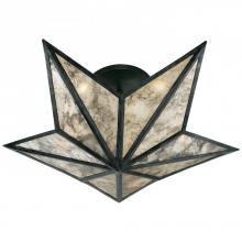 Visual Comfort SE 4100BZ - Constellation Small Flush Mount in Bronze with A