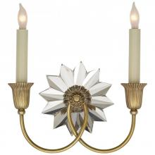 Visual Comfort SP 2013HAB - Huntingdon Double Sconce in Hand-Rubbed Antique