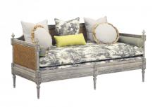 Currey 7045 - Luxembourg Daybed